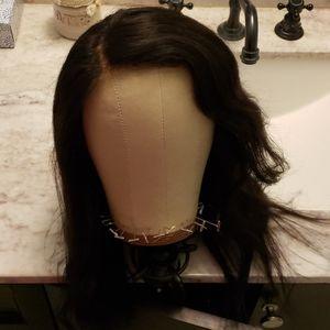 Human hair wig 16 inches